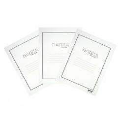 Папка с машинка картон luxury, А4