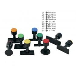 Дръжки за печати, 28 х 74 мм
