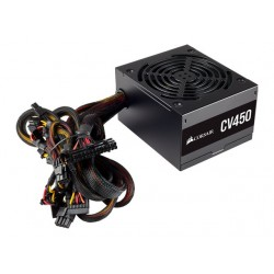 CORSAIR CV Series CV450 - 450W Power Supply 80 Plus Bronze