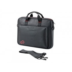 FUJITSU Top Case 14 Black notebook case for NB up to 14inch Slim design 1 compartment for NB and documents a front pocket
