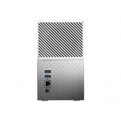 WD My Cloud Home Duo 4TB NAS 2xHDD Mirror Mode 1.4GHz QuadCore processor 1GB DDR3L RAM USB3.0 External RTL